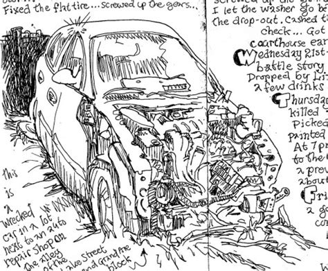 wrecked car drawing gallery wrecked car drawing