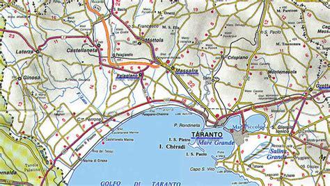 tavoliere delle puglie cartina cartine e mappe della puglia 6