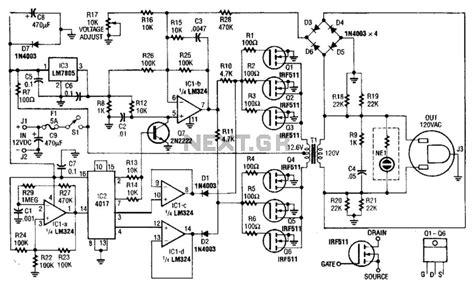 gt power supplies gt high voltage gt 40w 120vac inverter