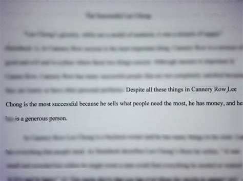 thesis translation spanish thesis statement for cannery row essay