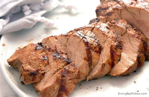 juicy grilled pork tenderloin recipe