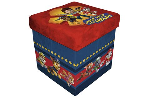 sit and store ottoman nickelodeon sit and store ottoman paw patrol