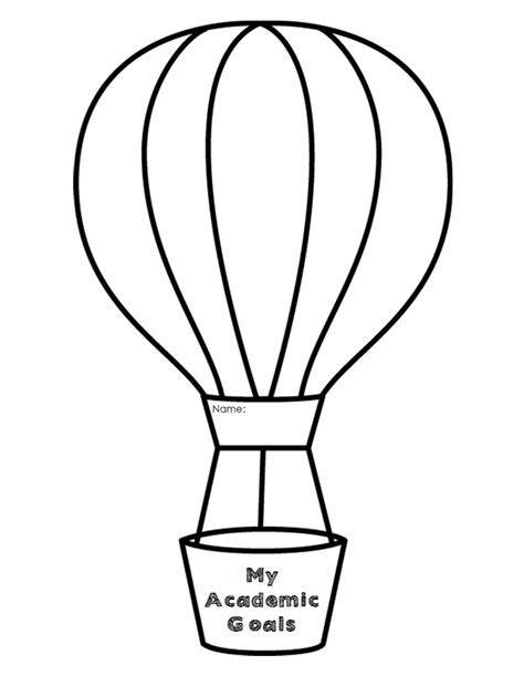 air balloon card template air balloon template beepmunk