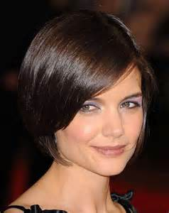bobs hairstyle with side swoop short bob with side swept bangs the best short