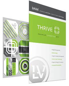 level 3 weight management and nutrition level thrive on lifestyle weight management
