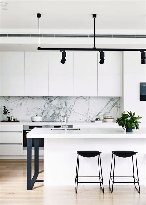black white kitchens ideas  pinterest