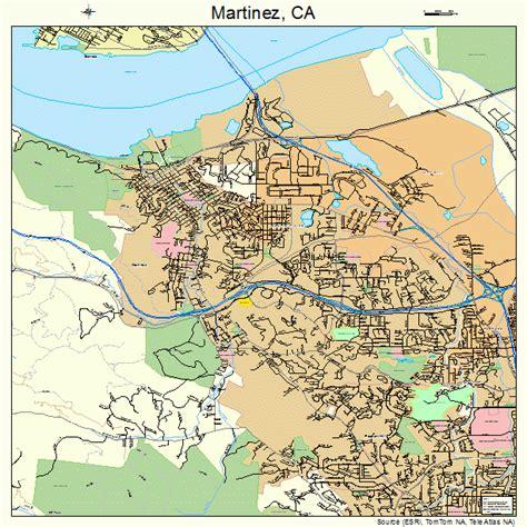 martinez california map martinez california map 0646114