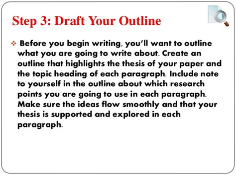 Steps In A Research Paper - steps of research paper writing buy a essay for cheap