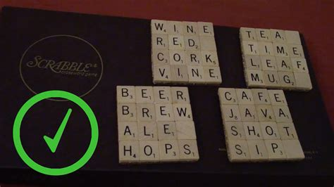 make words with scrabble letters how to make scrabble tile coasters 14 steps with pictures