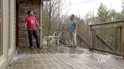 scotts outdoor cleaner  deck youtube