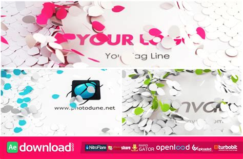 flower logo videohive free download free after bright logo reveal free after effects project videohive
