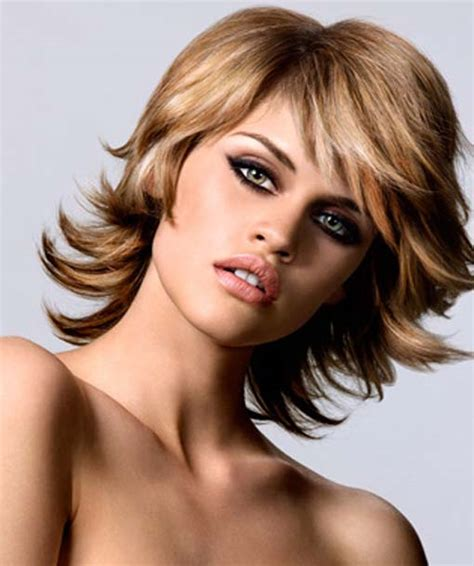 layered hairstyles shoulder length hair layered haircuts for medium length hair