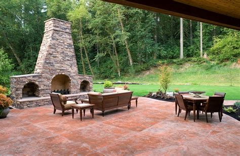 cost of poured concrete patio patio building