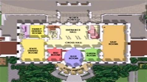 white house layout white house layout floor plan youtube