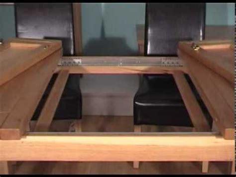 primmer expanding table youtube spoils co uk oaken 2 leaf extending dining table youtube