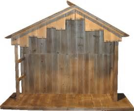 Nativity stable 50 tall x 74 wide x 24 deep perfect for 36 43 nativity