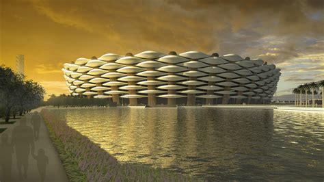 basrah sports city architect magazine hok basrah