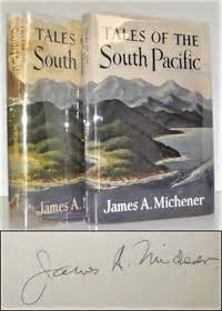 tales from the blind books tales of the south pacific by a michener signed