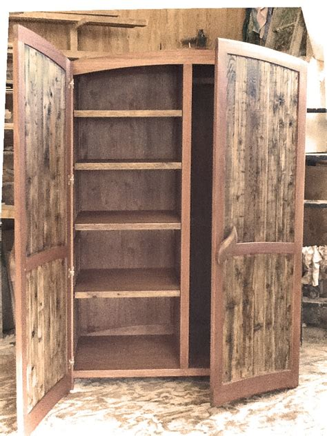 Cedar Armoire by Armoire Reclaimed Cedar And Mahogany
