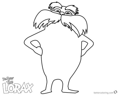 the lorax coloring pages lorax coloring pages line free printable coloring pages