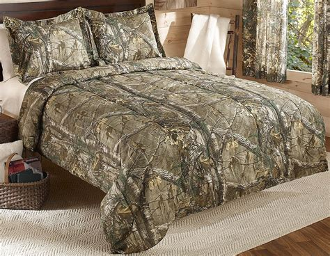 queen camo comforter set real tree xtra mini comforter set queen tan camo ebay