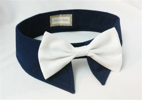 Collar Shirt With Bow Tie Blue tuxedo navy blue shirt collar and blush pink or