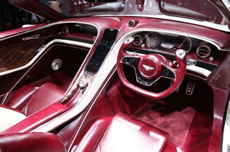 bentley exp 12 all electric bentley convertible concept shown at geneva