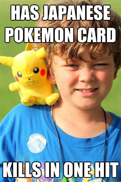 Pokemon Kid Meme - pokemon trainer kid memes quickmeme