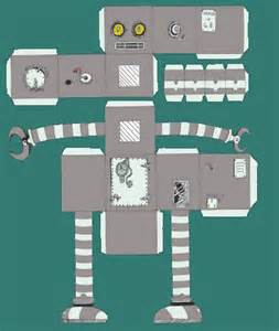 How To Make A Robot Out Of Paper - shop my