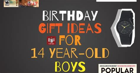 Gifts For A 14 Year Boy - birthday gift ideas for 12 13 or 14 year boy he ll