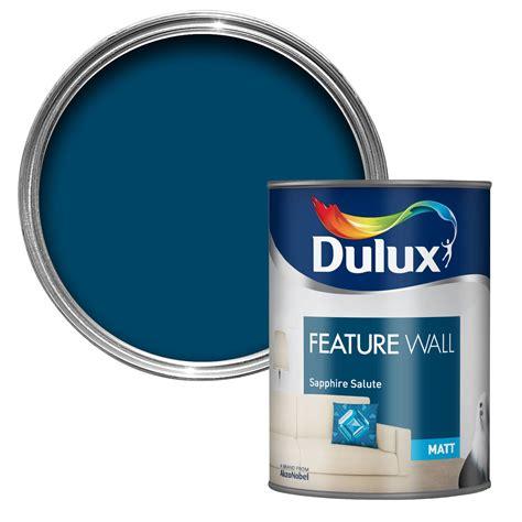 dulux bathroom paint matt dulux feature wall sapphire salute matt emulsion paint 1