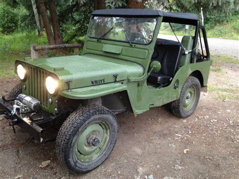 K 3311 3 Selempang Jeep 1951 willys cj3a na prodej