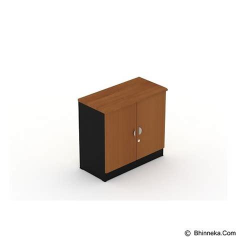 Lemari Kayu Pendek jual uno lemari arsip pendek pintu kayu 2 ruang ust 2352