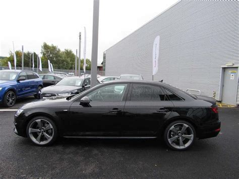 Audi A4 Black Edition by Used 2017 Audi A4 Saloon Black Edition 1 4 Tfsi 150 Ps 6