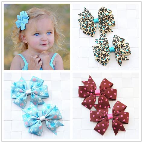44 best baby hair accessories images on aliexpress buy handmade flowers ribbon bows baby