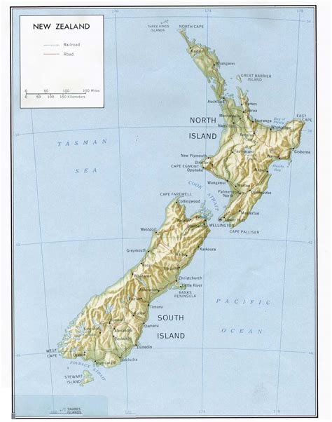 map new zealand map of new zealand a source for all kinds of maps of new zealand