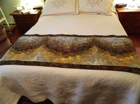 Bed Runner Ukuran 2 5 Meter 1 handcrafted brown bargello batik bed runner by quiltsbysuewaldrep images frompo