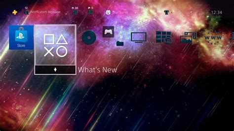 ps4 themes space beautiful space rain ps4 dynamic theme youtube