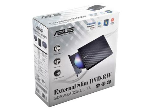 Asus Dvd Writer External Sdrw 08d2s U Lite asus 8x dvd rw usb2 0 external optical drive sdrw end 2 19 2016 4 41 00 pm