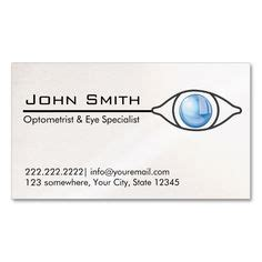 optometry business cards templates free optometrist eye specialist professional business card