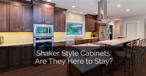 Shaker Style Cabinets: Are They Here to Stay?   Home