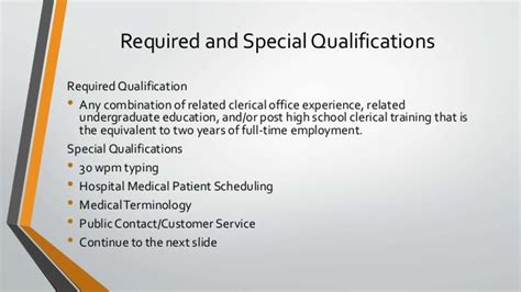 Special Qualification by Employment At The Of Iowa