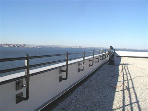 island ny roof access ladders fabrication of roof and parapet railing guardrail and