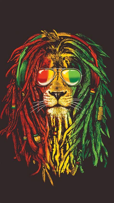 rasta lion    lion wallpaper rasta lion reggae art
