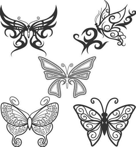 free butterfly tattoo designs to print butterfly tattoos