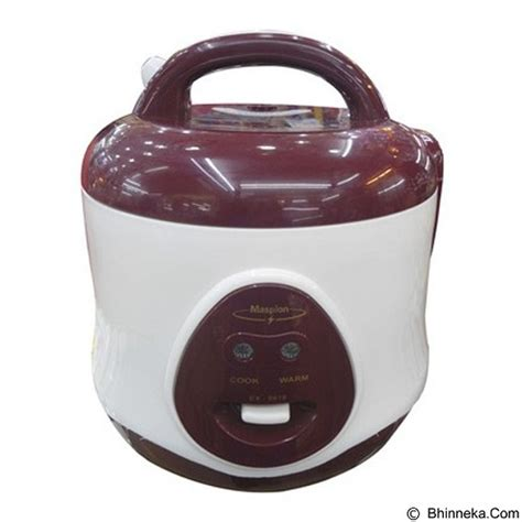 Maspion Magic 3 In 1 Ex 0618 08 L Jual Rice Cooker Maspion Magic 0 8l Ex 0618 Brown