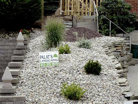 Garden Ideas With Pebbles Outdoor Gardening Pathway Of Pebbles Desert Landscaping Designs Ideas For Small Yards