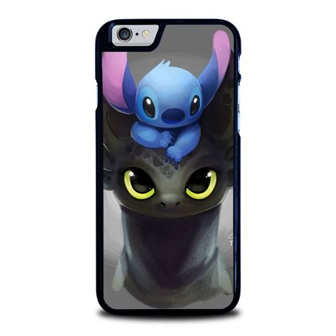 toothless  stitch iphone       se case phone cover ebay