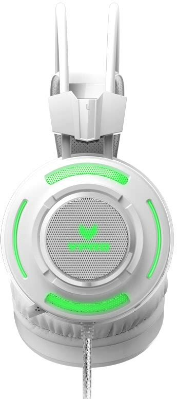 Rapoo Vpro Gaming Headset Vh200 Hitam rapoo vpro vh200 rgb gaming headset white headphones with mic alzashop