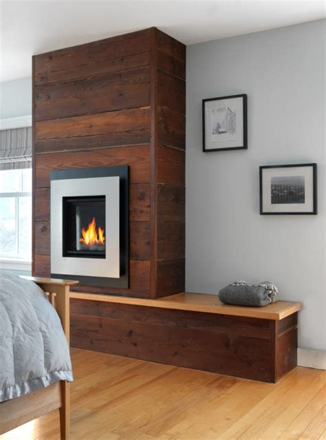 Gas Built In Fireplace by A Gas Fireplace And Built In Combo Homebuilding